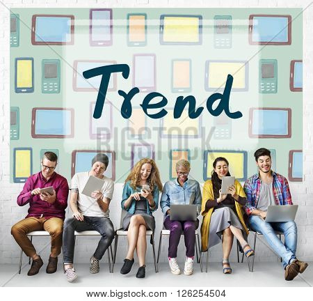 Trends Trend Trending Modern Style Fashion Concept