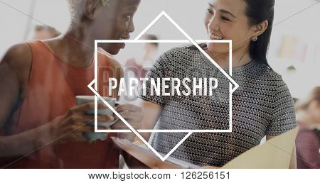 Partnership Association Cooperation Strategy Concept