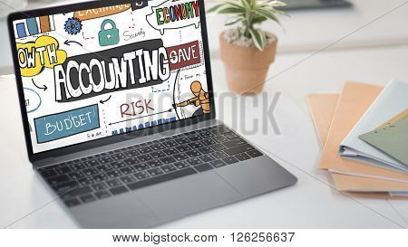 Accounting Finance Economy Bookkeeping Auditing Concept