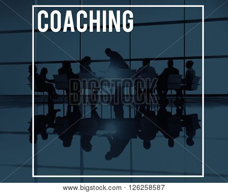 Coaching Educating Training Practice Mentoring Concept