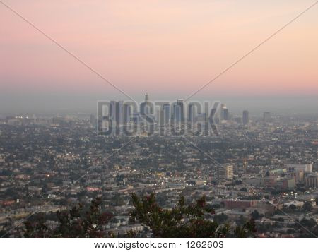 Los Angeles Through The Smog