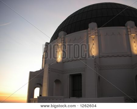 Dome At The Griffith Observatory