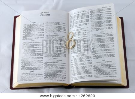 Bible And Rings