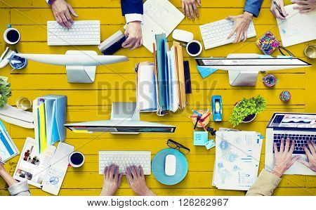 Administration Occupation Business Corporate Concept