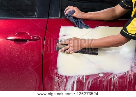 Auto body repair series : Sanding putty