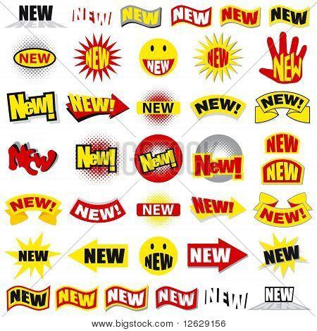 New stickers set