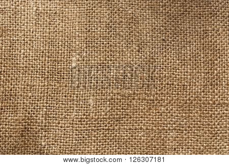Brown Textile Sack Texture