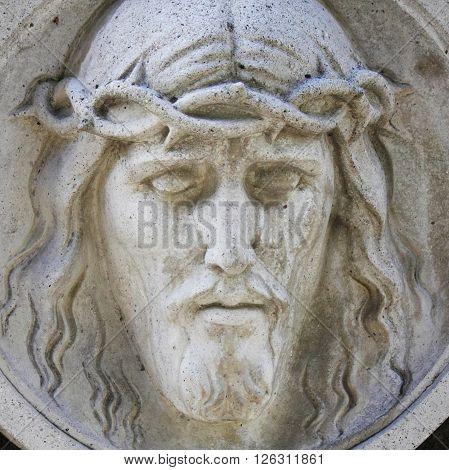 Holy cross with crucified Jesus Christ (Lviv Ukraine)