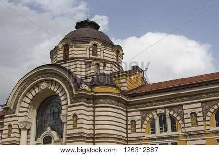 Central Public Mineral Bath House In Sofia, Bulgaria