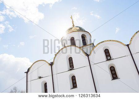 VITEBSK, BELARUS - 20 MARCH, 2016: Church of the Annunciation