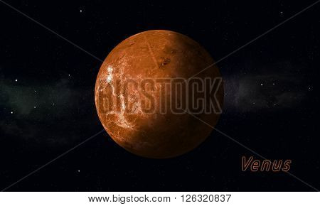 Solar System Planet Venus