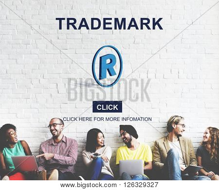 Trademark Logo Brand Name Copyright Concept
