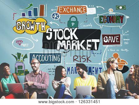 Stock Market Finance Exchange Economy Forex Concept