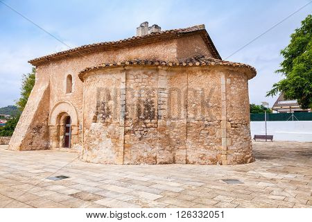 Saint Michael Church In Calafell, Spain