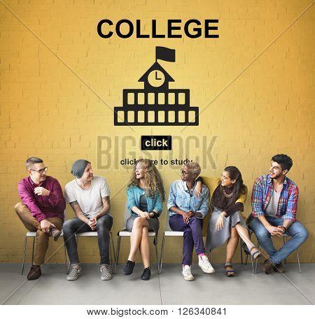College Education Knowledge University Academic Concept