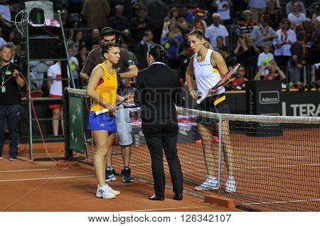 Women Tennis Match