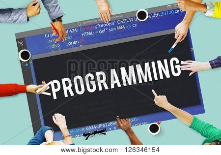 Program Programming Computer Technology Digital Concept