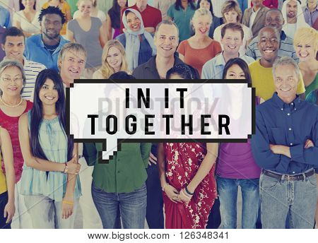In It Together Integration Immigration Concept