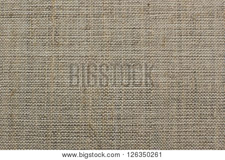 Texture of the vintage homespun linen textile, background