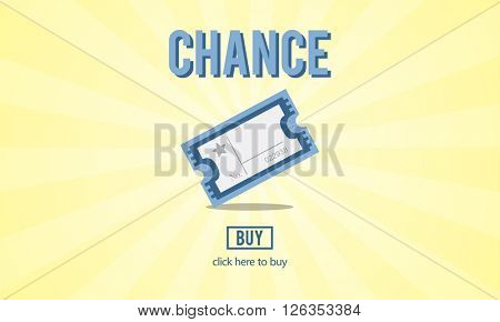 Chance Lotto Lottery Price Win Concept