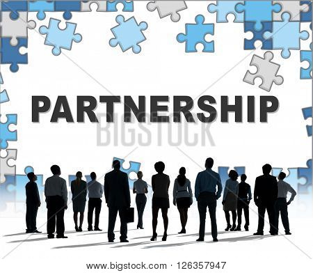 Partners Partnership Alliance Teamwork Unity Concept