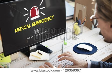 Medical Emergency Diagnosis Hospital Healthcare Concept
