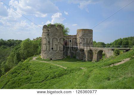 Koporye fortress in the summer landscape. Leningrad region, Russia