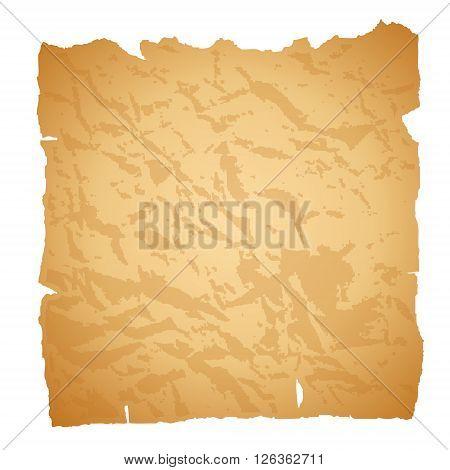 Old paper. Vector illustration. Grunge damaged texture