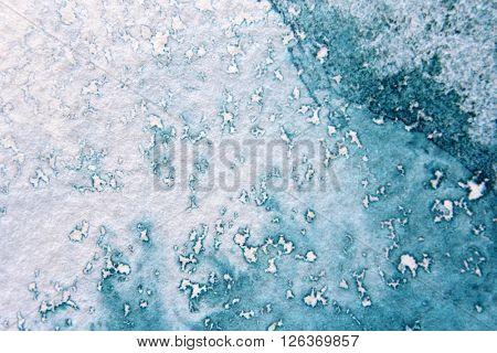Super Macro Blue Watercolor Textures 8