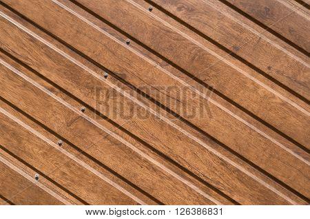 Brown Siding That Mimics The Natural Wood