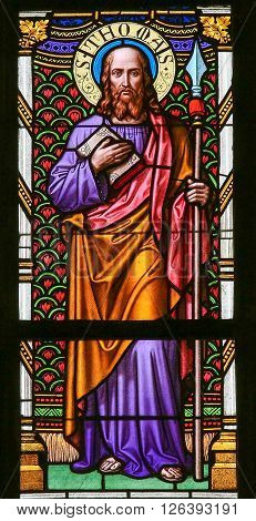 Stained Glass - Saint Thomas