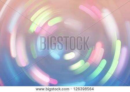 Bokeh Lights Background Retro Colorful Whirl 4