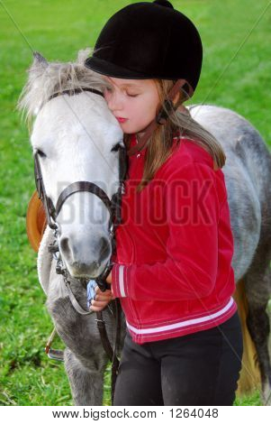 Girl And Pony