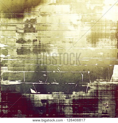 Old grunge background or aged shabby texture with different color patterns: yellow (beige); brown; gray; purple (violet); pink; white