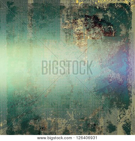Old abstract texture used as shabby grungy background. With different color patterns: brown; gray; green; blue; purple (violet); cyan