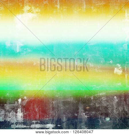Distressed texture, faded grunge background or backdrop. With different color patterns: yellow (beige); brown; red (orange); green; blue; white