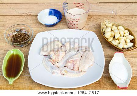 Prepare Fresh Chicken