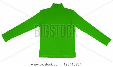 T-shirt With Long Sleeves - Green