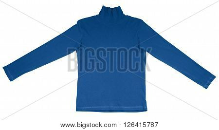 T-shirt With Long Sleeves - Light Blue