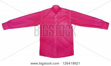 Shirt With Long Sleeves - Pink