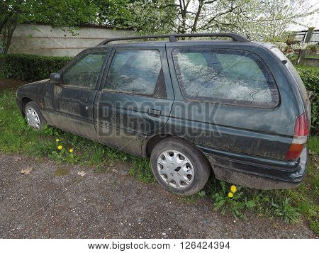 Abandoned Car Vehicle