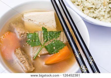 Oriental Vegetarian Stew