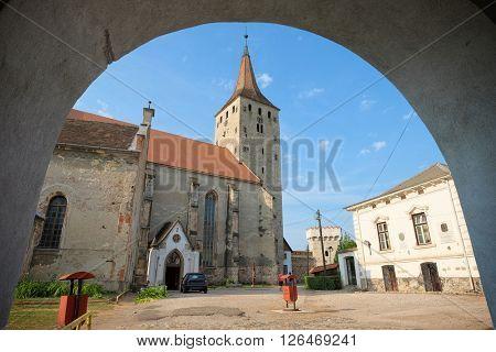 Reformed Church inside Aiud Citadel, Romania