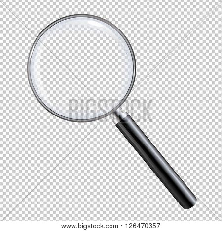 Magnifying Glass, Isolated on Transparent Background