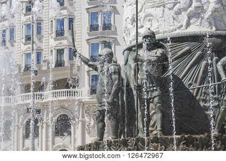 Skopje, Macedonia - April 14, 2016:statue Of Alexander The Great On Main Square In Downtown Of Skopj