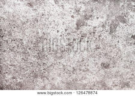 Wall or floor texture. Grey concrete background. Grunge cement background with darken effect