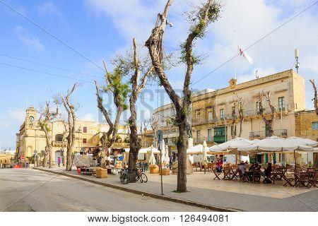 Street Scene, Victoria, Gozo