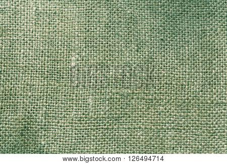 Cyan Textile Sack Texture