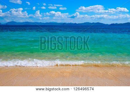 Beautiful tropical beach, El Nido, Palawan, Philippines, Southeast Asia