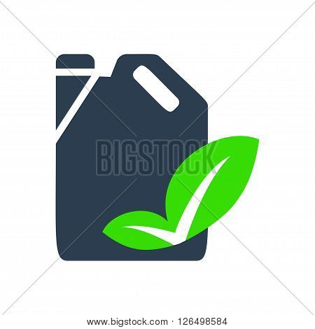 Ecology vector icon. Vector illustration. Vector symbols.